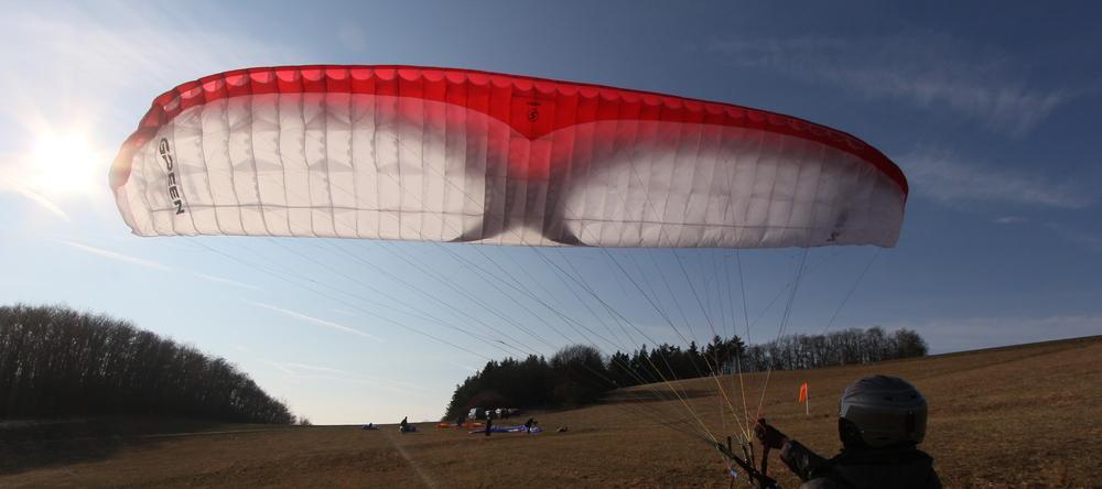 Paraglider. nur fliegen ist schöner...